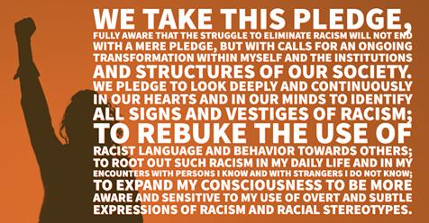 Solidarity Phrase George Floyd YWCA Westfield NY