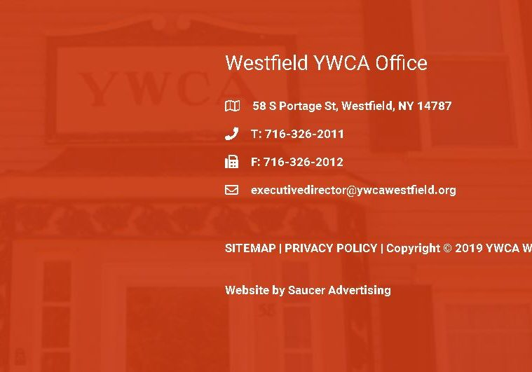 YWCA Westfield Repeated Address